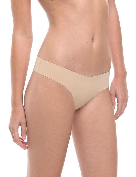 Commando Classic Solid Thong - Nude