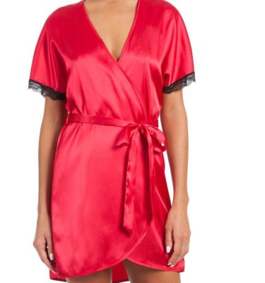 In Bloom, Robe & Babydoll - Red, Black