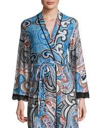 In Bloom Wrapper Robe - Surrealistic