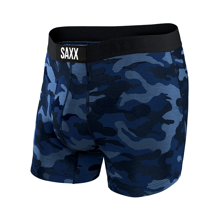 Saxx Vibe Brief Blue Camo