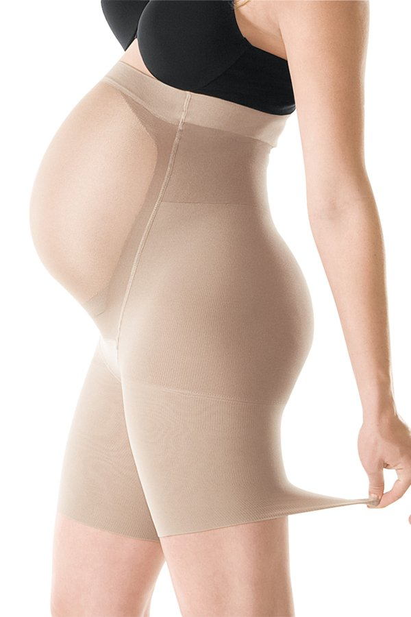 Spanx Power Mama Panty - Nude, Black
