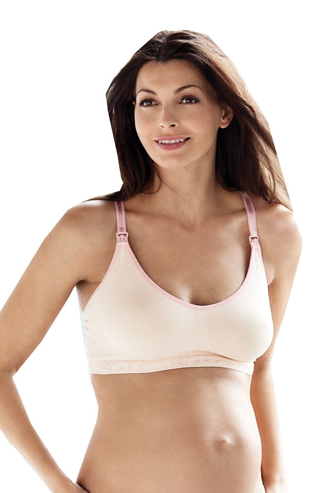 daea37a7d8 Maternity Seamless Nursing Bra - Ribbons   Bows Intimates