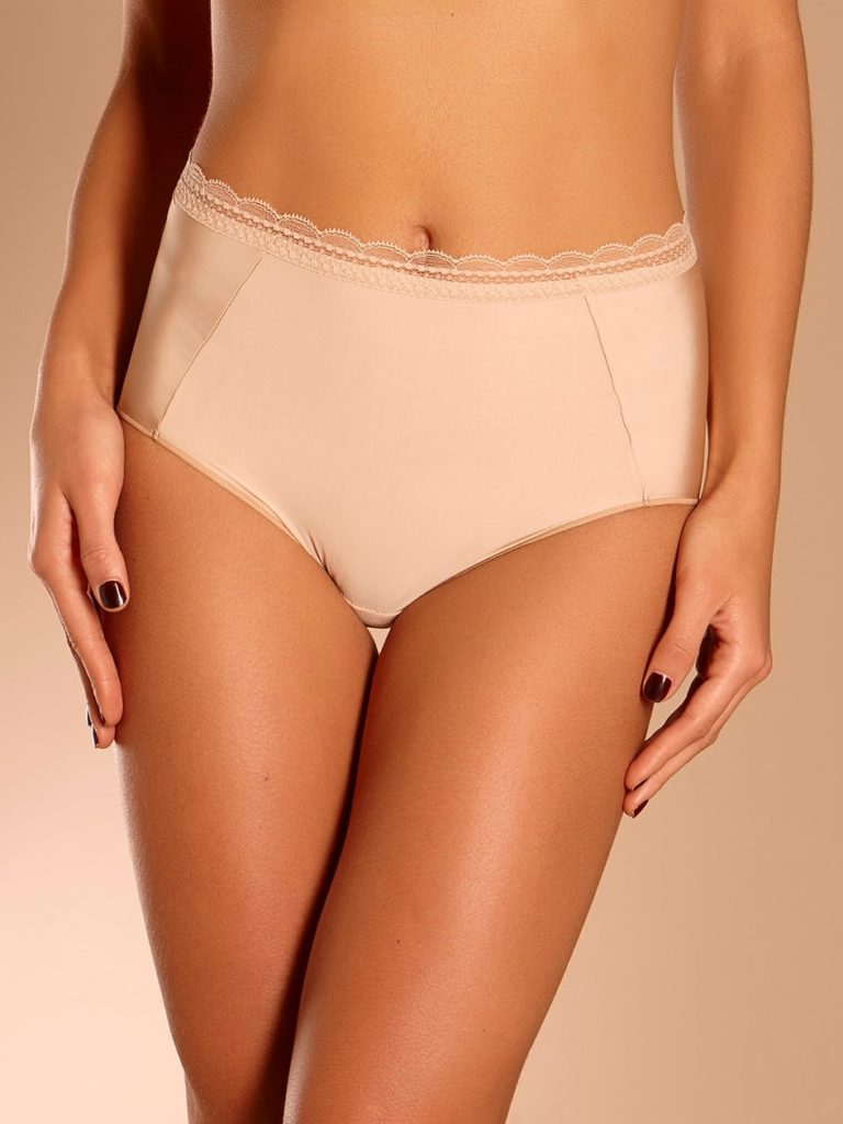 Chantelle Soft Full Brief - Nude