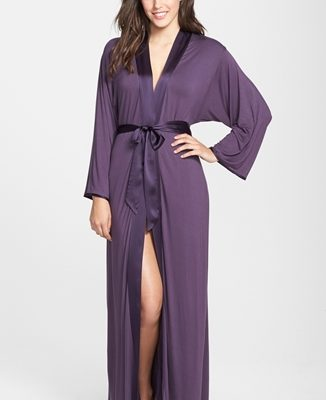 Fleur't Long Robe - Purple