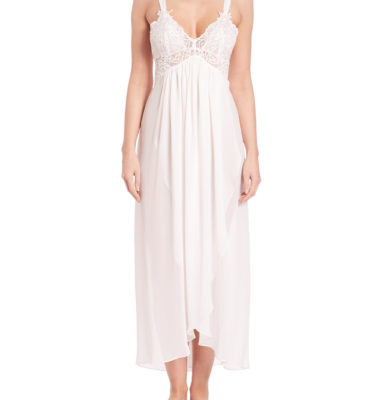 Jonquil Chiffon Gown - Ivory