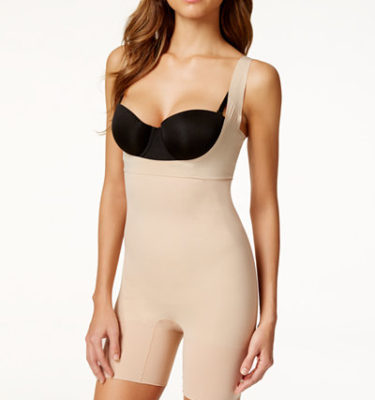 Spanx Firm Control - Nude, Black